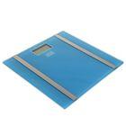 Весы напольные GOODHELPER BS-SA56, электронные, до 180 кг, с анализатором массы, голубые