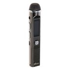 Диктофон RITMIX RR-150 4Gb, MP3, дисплей с подсветкой, FM-радио, металлический корпус