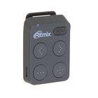 MP3 плеер RITMIX RF-2500 8Gb, кнопочное управление, клипса, card slot, темно-серый