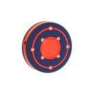 MP3 плеер RITMIX RF-2850 8Gb, клипса, Swarovski Zirconia, card slot, сине-оранжевый