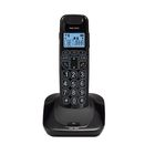 Телефон Texet TX-D7505A DECT, комплект из базы и трубки, полифония, черный