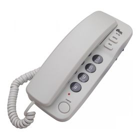 Телефон Ritmix RT-100, проводной, регулятор уровня громкости, серый Ош