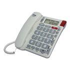 Телефон Ritmix RT-570, проводной, определитель номеров, слоновая кость
