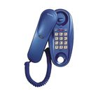 Телефон Supra STL-112, проводной, настенная установка, голубой