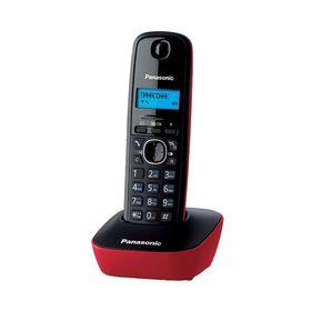 Телефон Panasonic KX-TG1611 RUR DECT, комплект из базы и трубки, монохром.дисплей на трубке   253167