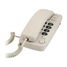 Телефон Ritmix RT-100, проводной, регулятор уровня громкости, слоновая кость
