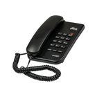 Телефон Ritmix RT-320, проводной, настенная установка, черный