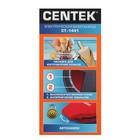 Вафельница электрическая Centek CT-1441, 700 Вт, тонкие вафли, антипригарное покр., красная - фото 900161