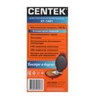 Вафельница электрическая Centek CT-1441, 700 Вт, тонкие вафли, антипригарное покр., красная - фото 900162