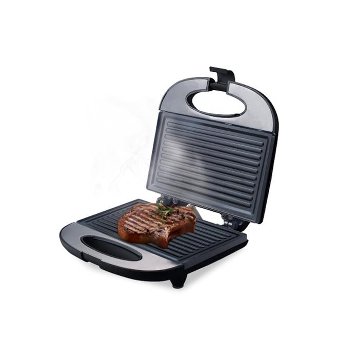 Электрогриль Centek CT-1448, 800 Вт, гриль + сэндвичница, антипригарное покрытие