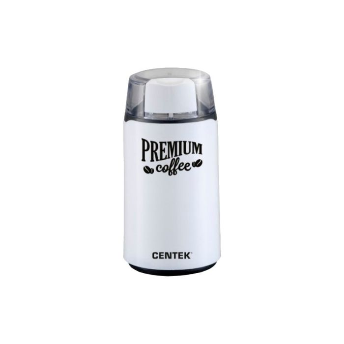 Кофемолка Centek CT-1360, 250 Вт, 45 грамм, белая