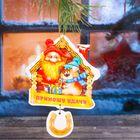 """Набор новогодних подвесок """"Приношу удачу"""", 2 шт."""