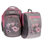 Рюкзак школьный с эргономичной спинкой Sternbauer 40*30*15 + мешок для обуви серый 7303