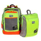 Рюкзак школьный с эргономичной спинкой Sternbauer 40*30*16 + мешок для обуви 7314