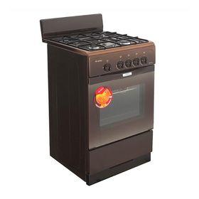 Плита Gefest 3200-08 K86, газовая, 4 конфорки, 42 л, газовая духовка, коричневая