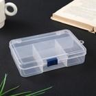 Plastic box for small items Rectangular 5 MIX 3,5x10,3h14,5 cm