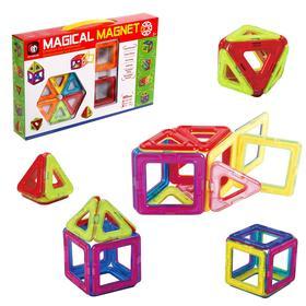 "Magnetic constructor ""Magic Magnet"", 20 parts."