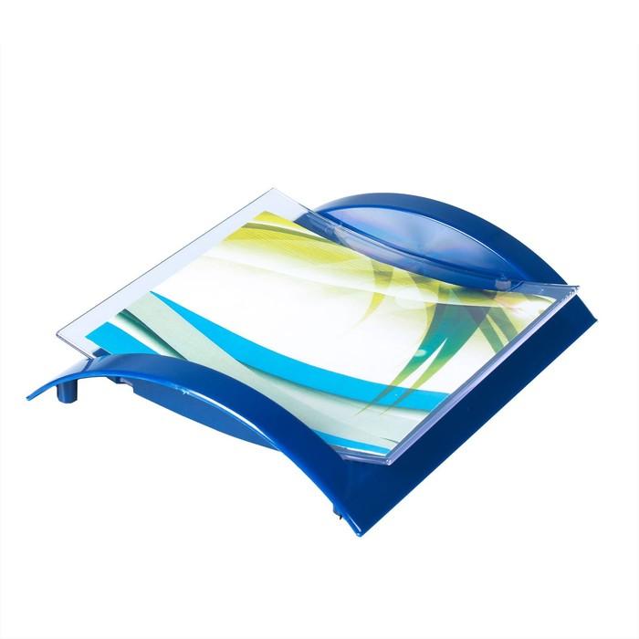 Монетница двухкомпонентная, 18*20*4, цвет синий