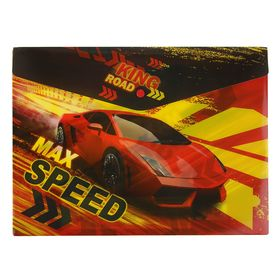 Папка-конверт на кнопке А4 180мкм Limpopo Max Speed, пластик Ош