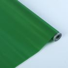 Пленка для цветов и подарков тонированный лак металлик зеленый 0.7 х 8.2 м, 40 мкм