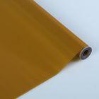 Пленка для цветов и подарков тонированный лак металлик золотой 0.7 х 8.2 м, 40 мкм