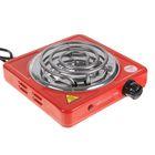 Электроплитка ENERGY EN-902R, 1000 Вт, 1 конфорка 140 мм, красная