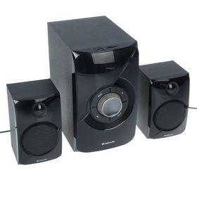 Computer speakers 2.1 Defender X420, 2x12 W + 16 W, MP3, FM, BT, remote control, 220 V, black.