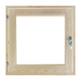 Окно, 50×50см, двойное стекло, из хвои