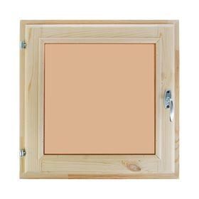 Окно (хвоя) 50х50см, двойное стекло, тонированное,
