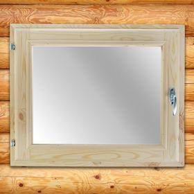 Окно, 50×60см, двойное стекло, из хвои