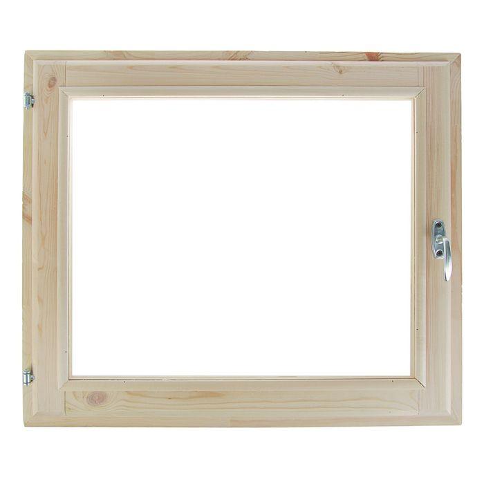 Окно 60х70 см, двойное стекло, хвоя