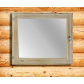 Окно, 60×70см, двойное стекло, из хвои