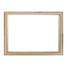 Окно глухое, 50×60см, двойное стекло Ош