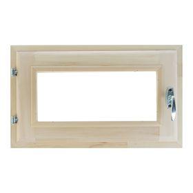 Окно, 30×50см, двойное стекло, из липы Ош