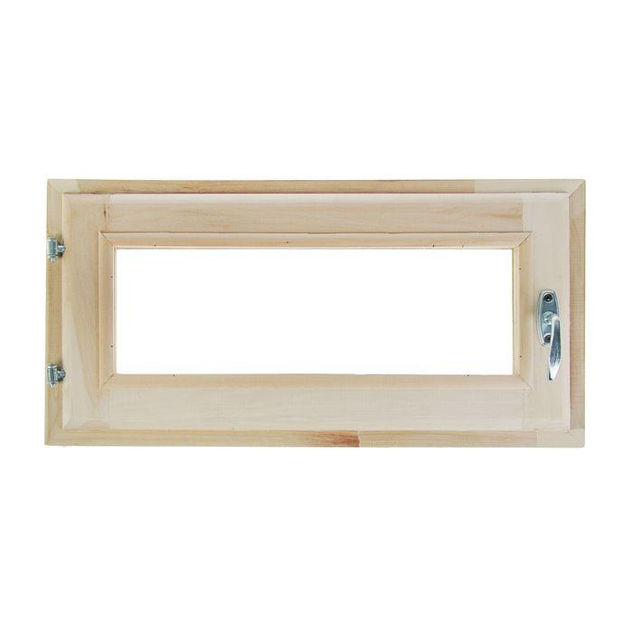 Окно, 30×60см, двойное стекло, из липы