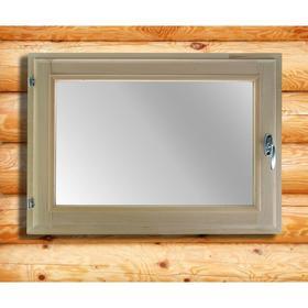 Окно, 50×70см, двойное стекло, из липы