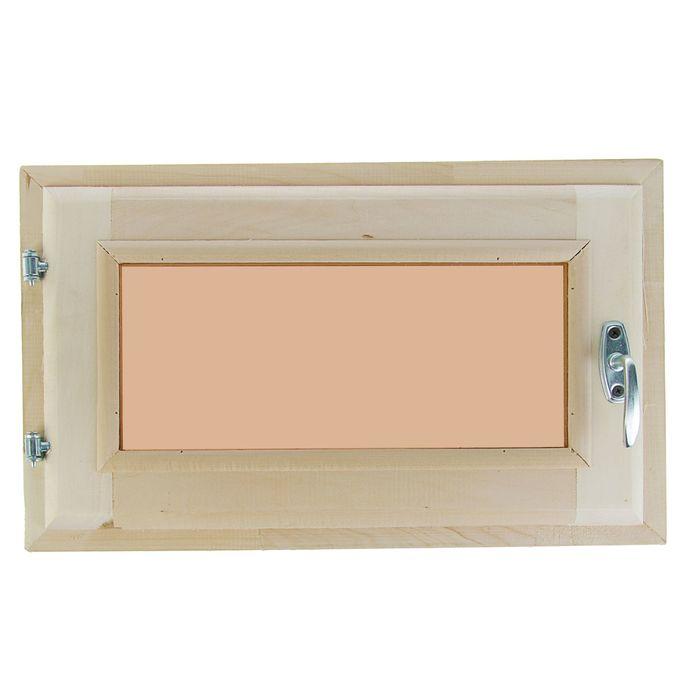 Окно 30х50 см, двойное стекло, тонированное