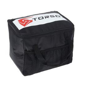 Термосумка TORSO, 27х19х20 см, черная Ош