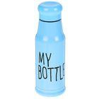 "Термос ""My bottle"", 420 мл, голубой, 7.5х21.5 см"