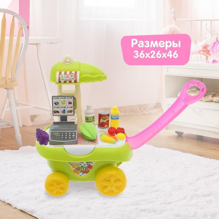 Игровой модуль-каталка «Магазинчик» с аксессуарами