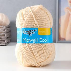 Пряжа Mowgli Eco (МауглиЭко) 90% акрил, 10% капрон 200м/50гр вереск (1445)