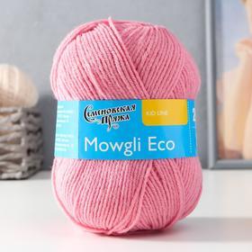 Пряжа Mowgli Eco (МауглиЭко) 90% акрил, 10% капрон 200м/50гр клевер (64)