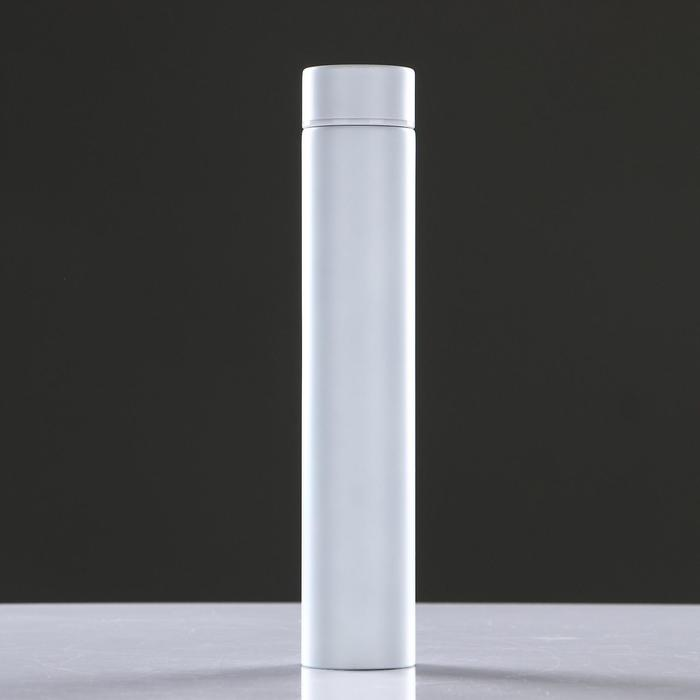"Термос ""На стиле"", 280 мл, 4х24 см, белый - фото 308167606"