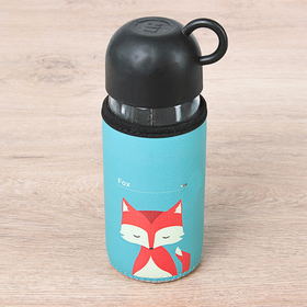 Бутылка 420 мл 'Лесная банда', цвета МИКС Ош