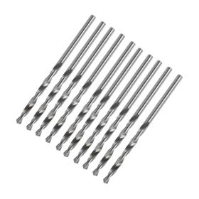 Drill bit for metal, LOM, HSS, straight shank, 2 mm, 10 PCs
