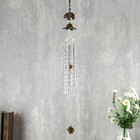 "Wind chimes metal ""Marble elephants"" 4 duct 1 figure 57 cm"