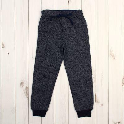 Брюки спортивные для мальчика, рост 134 см (72), цвет тёмно-серый меланж ZB 10288-DM-2