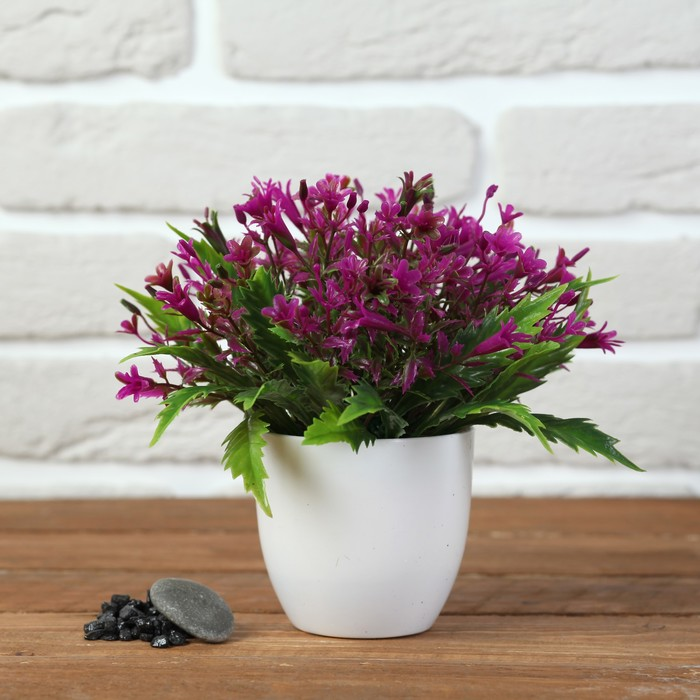 Бонсай 17*17 см с мелкими цветочками  МИКС - фото 4456481