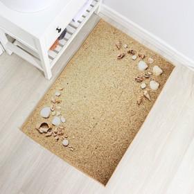 Коврик Доляна «Песчаный пляж», 80×120 см