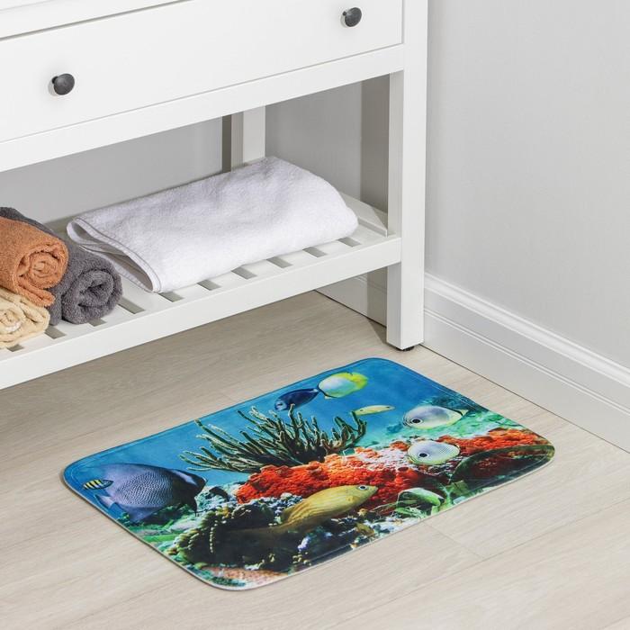 Коврик «Коралловый риф», 40×60 см
